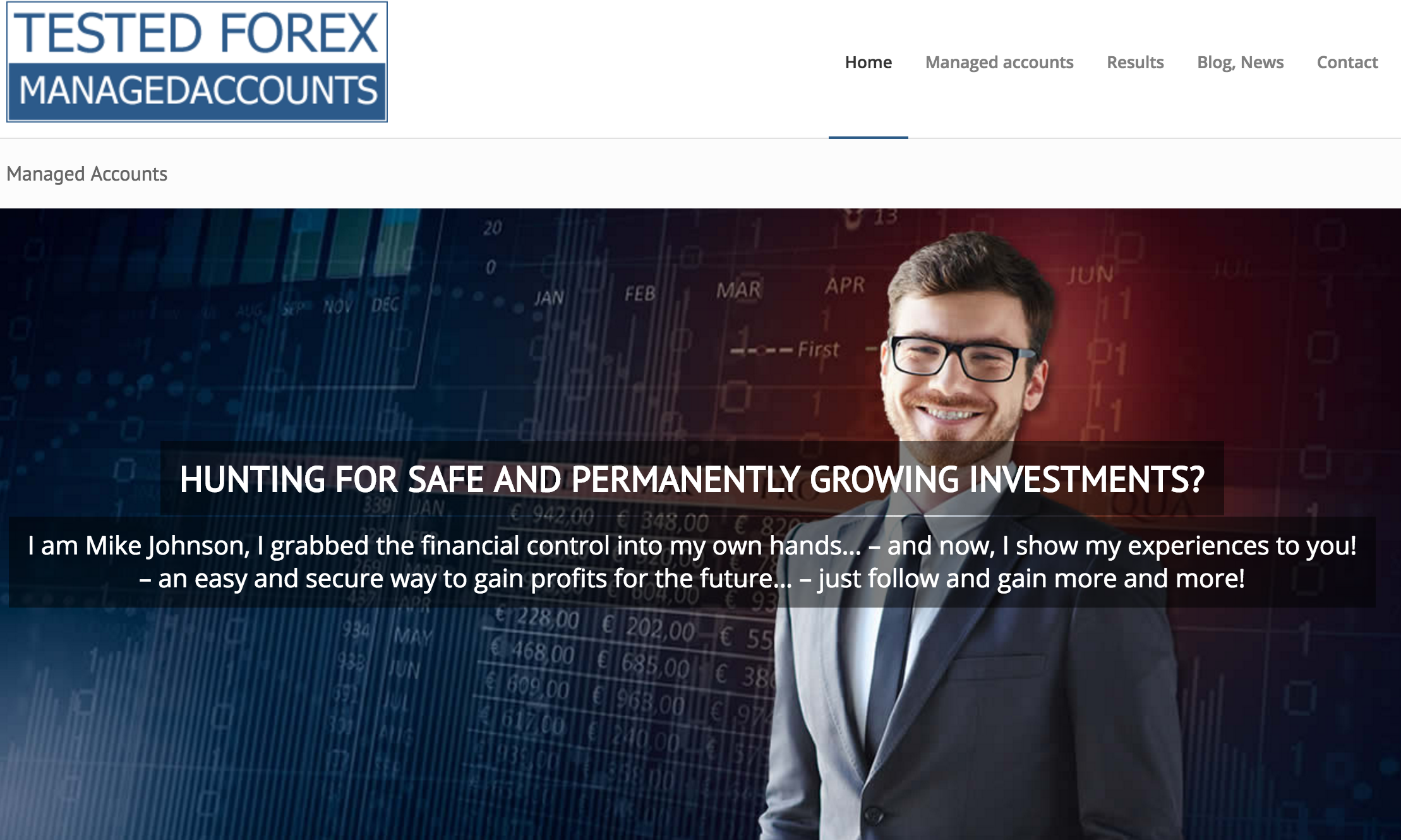 Forex online account
